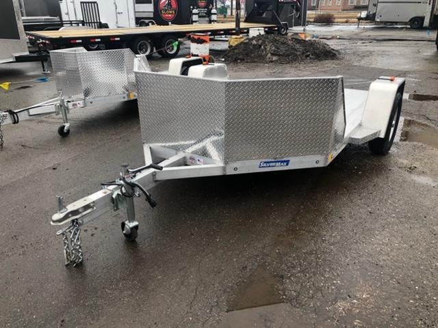 2 Place Open Aluminum Motorcycle Trailer in Ashburn, VA
