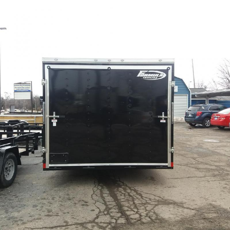 8.5 X 22 Tandem Axle Enclosed Car Hauler Trailer