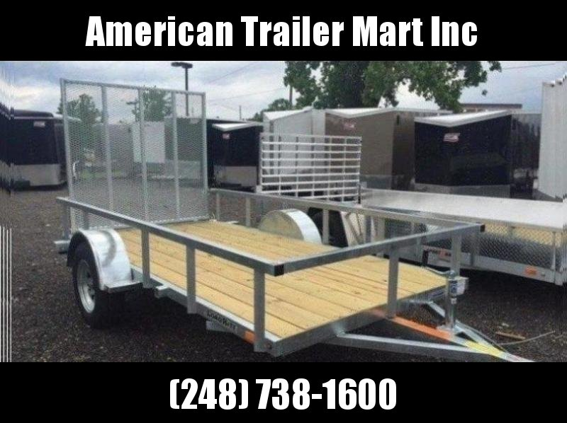 5.5 X 11 Single Axle Open Utility Trailer