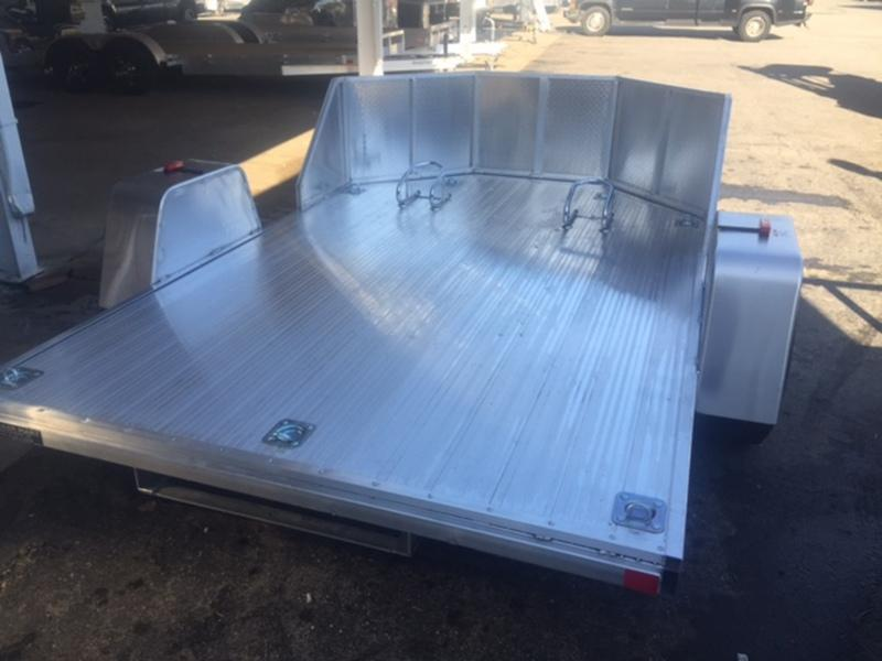 2 Place Motorcycle Trailer