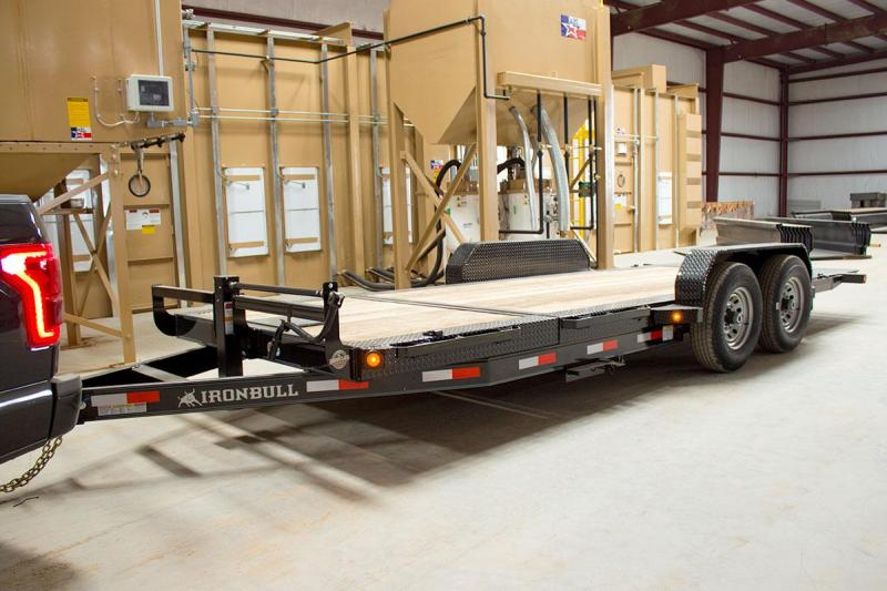 83 X 20 Tilt Low Pro Equipment Trailer 14K