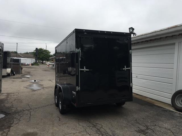 6 X 12 Tandem Axle Enclosed Blackout Trailer