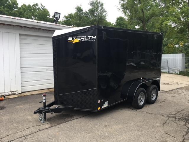 6 X 12 Tandem Axle Enclosed Blackout Trailer