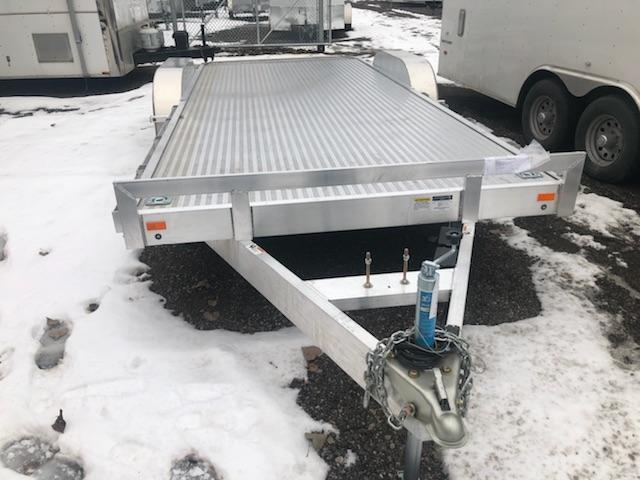 2019 American Hauler Industries ALFAT820TA3 Flatbed Trailer