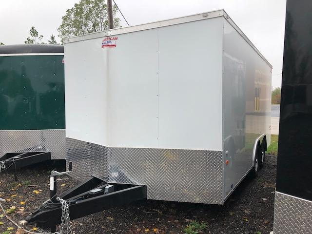 8.5 X 16 Tandem Axle Enclosed Trailer