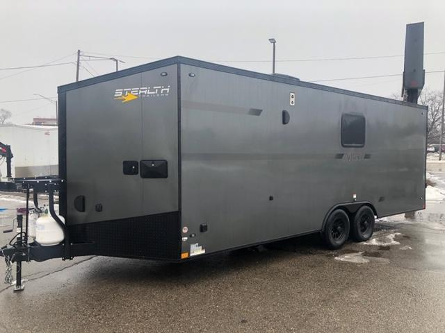 8.5 X 22 Toy Hauler Trailer