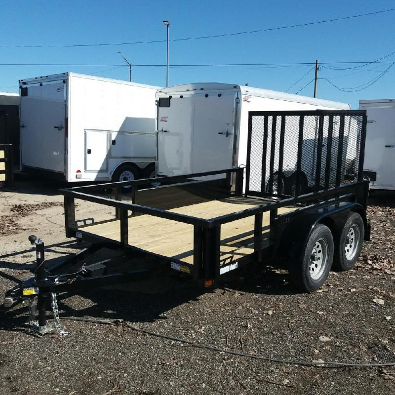 6 X 10 Tandem Axle Open Utility Trailer