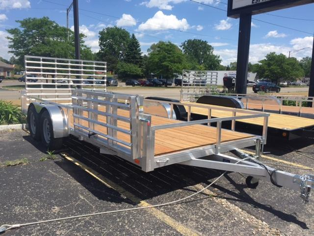 7 X 16 Tandem Axle  Open Utility Trailer in Ashburn, VA