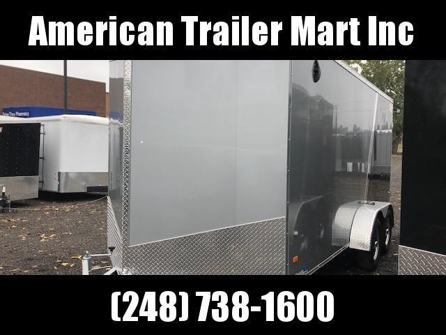 7 X 16 Tandem Axle Enclosed Trailer