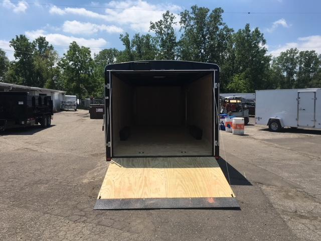 8.5 X 24 Enclosed Car Hauler Trailer