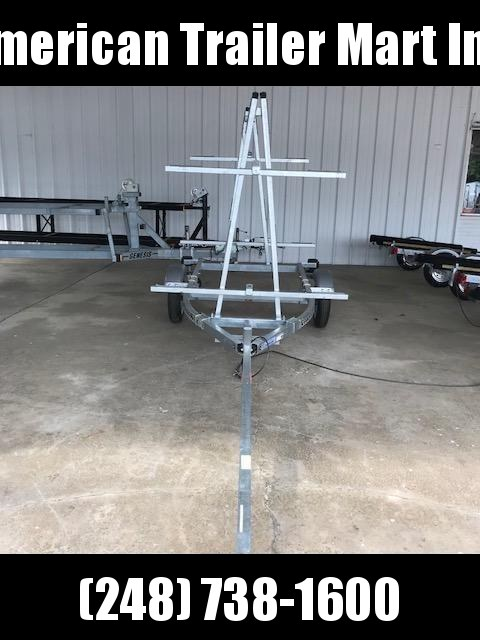 4 Place Kayak/Canoe Trailer  in Ben Wheeler, TX