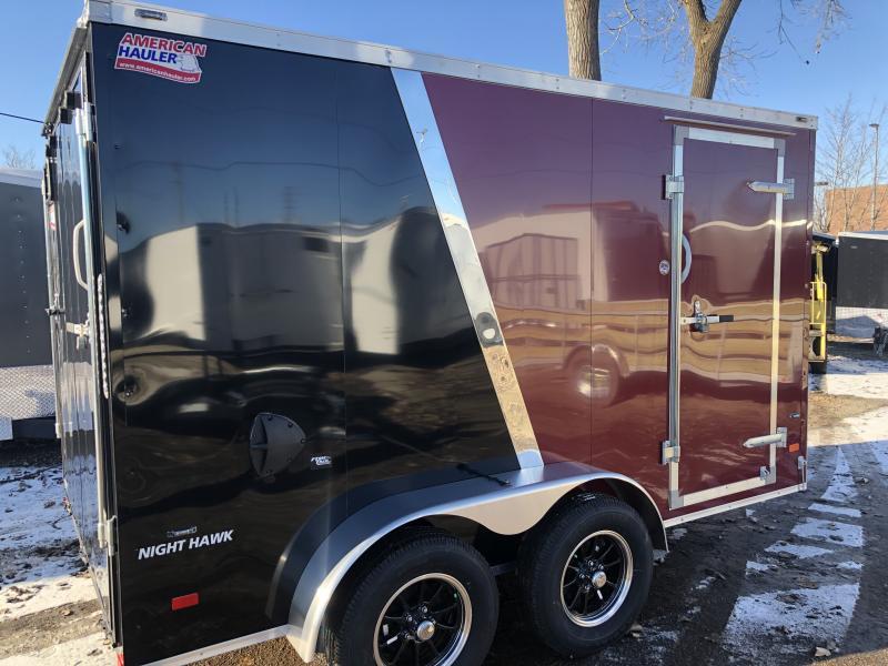 7 X 12 Tandem Axle Enclosed Trailer