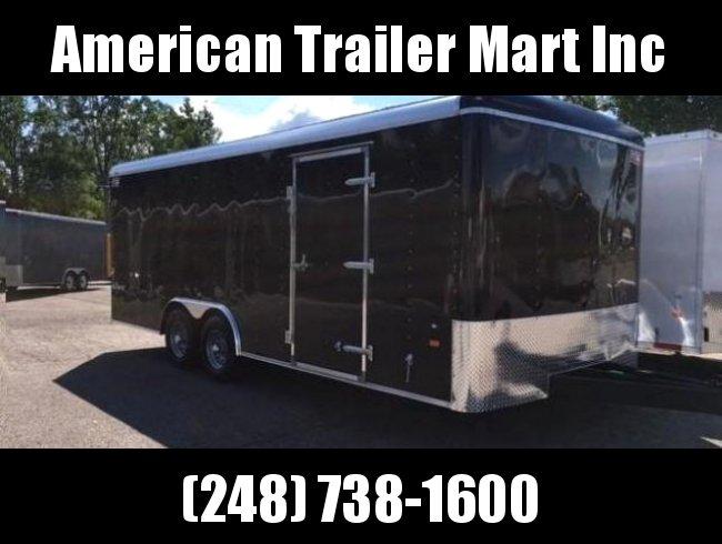 8.5 X 18 Tandem Axle Enclosed Car Hauler Trailer