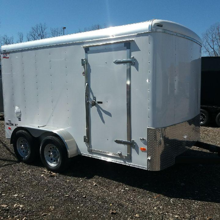 7 x 12 Tandem Axle Enclosed Trailer in Ashburn, VA