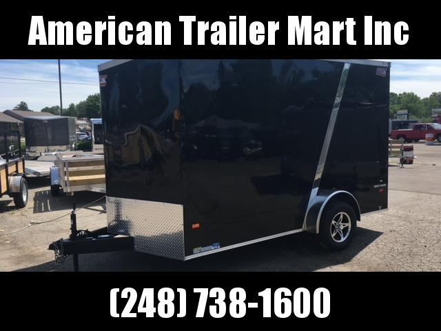 7 X 12 Single Axle Enclosed Trailer