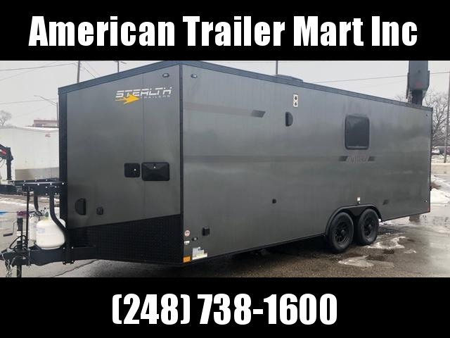8.5 X 22 Toy Hauler Enclosed Trailer