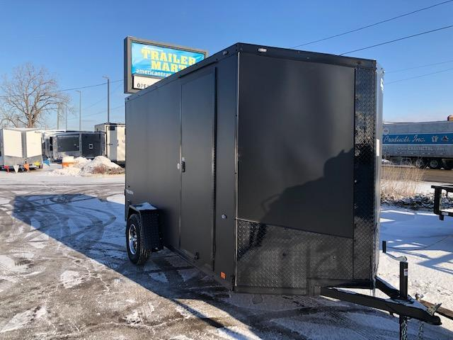 6 X 12 Single Axle Enclosed Trailer Blackout Pkg in Ashburn, VA