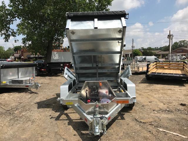 6 X 10 10K Galvanized Dump Trailer