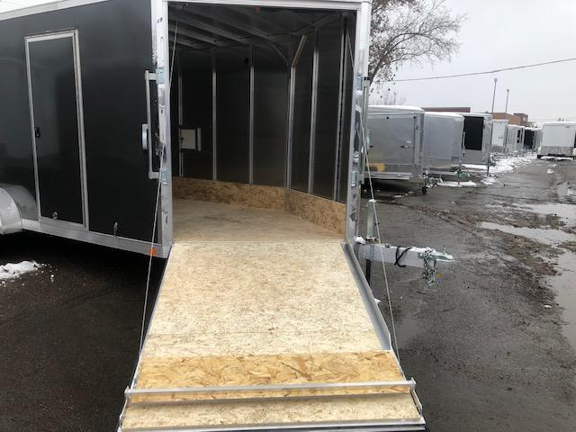 7 X 23 Enclosed Snowmobile Trailer