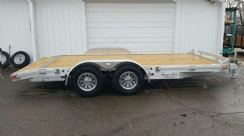 16' Open Aluminum Car Hauler