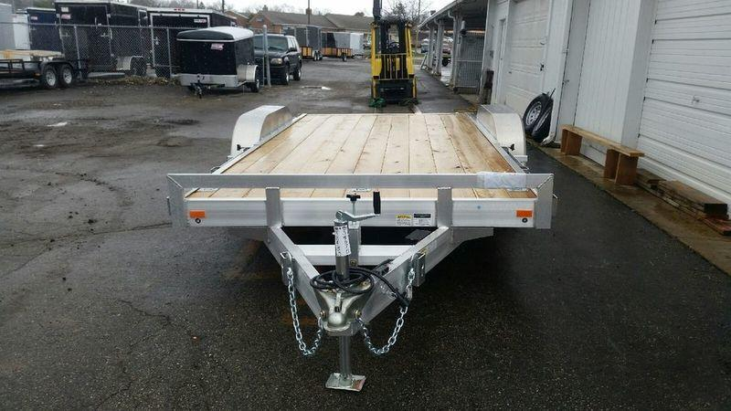 16' Open Aluminum Car Hauler