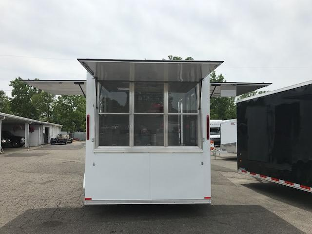 7X14 Tandem Axle Vending / Concession Trailer