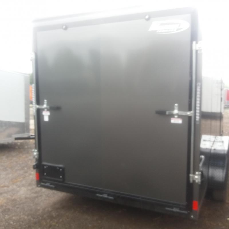 7 X 16 Tandem Axle Enclosed Trailer Blackout Pkg