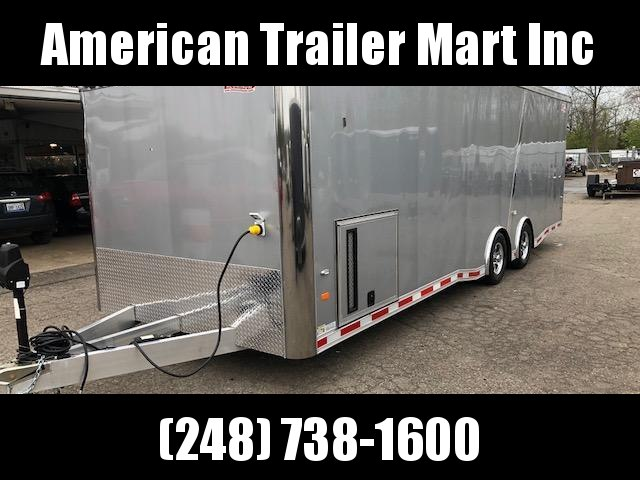 8.5 X 26 Tandem Axle Enclosed Trailer /Car Hauler