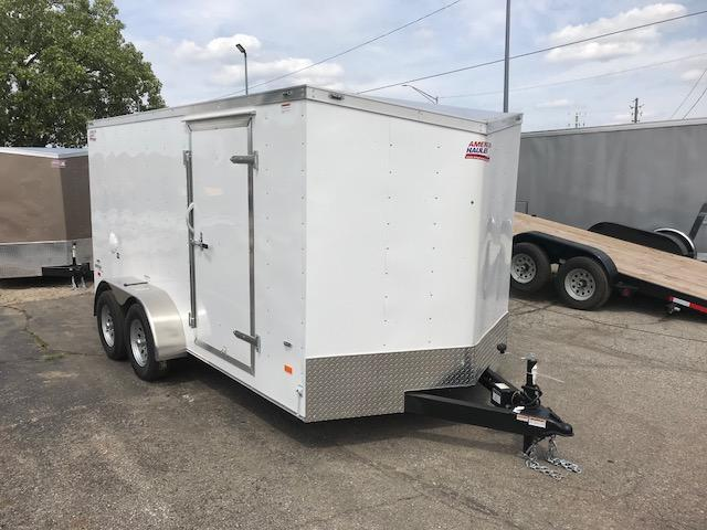 7 X 14 Tandem Axle Enclosed Trailer in Ashburn, VA