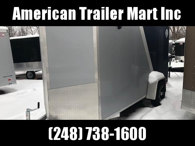 5 X 12 Single Axle Enclosed Trailer