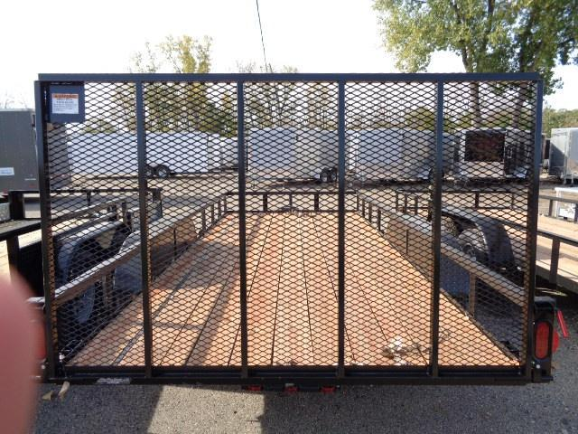6.5 X 16 Tandem Axle Open Utility Trailer