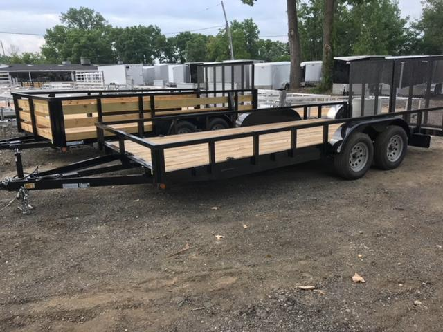 83 X 18 Open Landscape Trailer