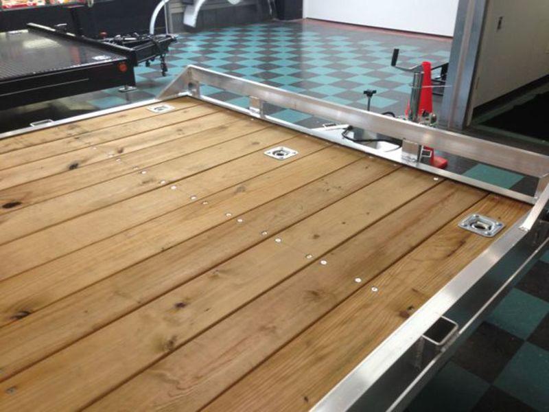 8 X 20 Open Car Hauler Trailer