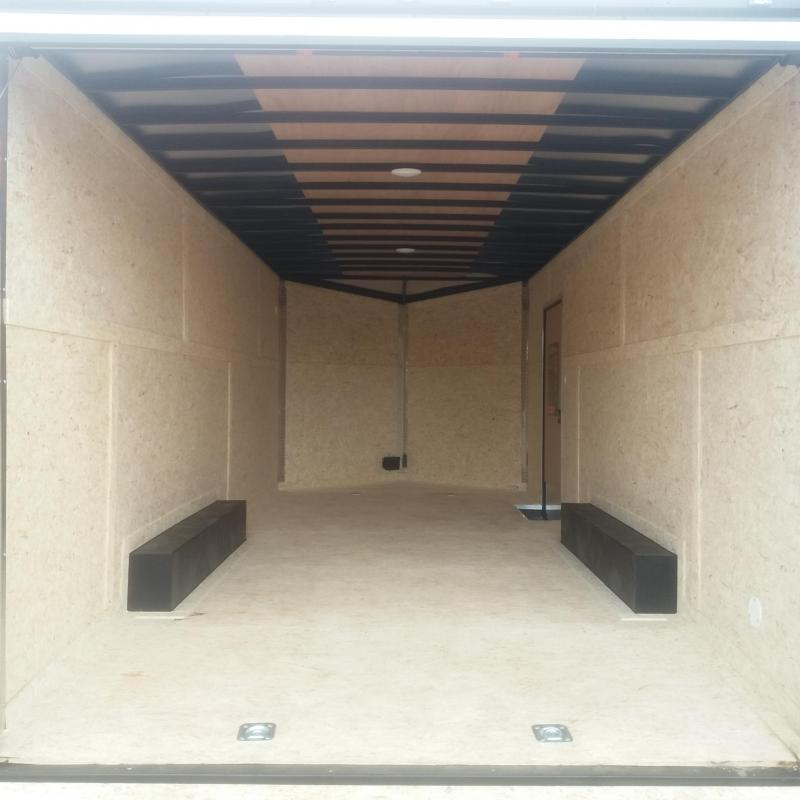 8.5 X 20 Tandem Axle Enclosed Car Hauler Trailer