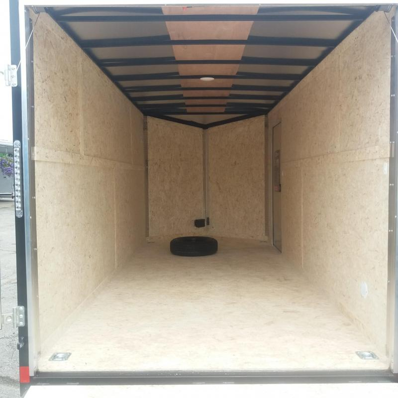 7 X 16 Enclosed Trailer