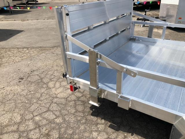 "77"" X 12 Single Axle Open Utility Trailer"