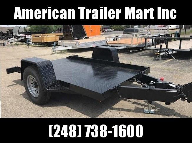 6 X 10 Tilt Equipment Trailer