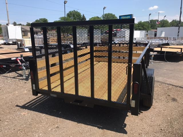 "82"" X 10 Single Axle Open Utility Trailer"