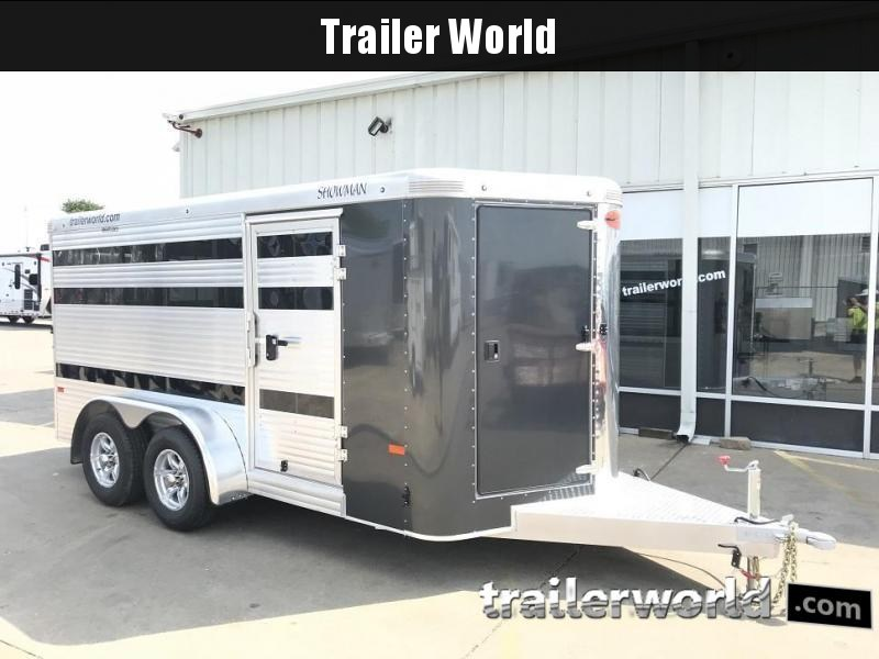 2019 Sundowner Showman Low Profile 16' Livestock Trailer