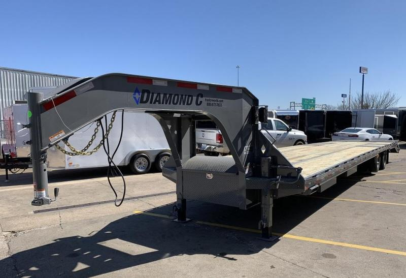 2019 Diamond C FMAX212 40' Hot Shot Trailer AIR RIDE