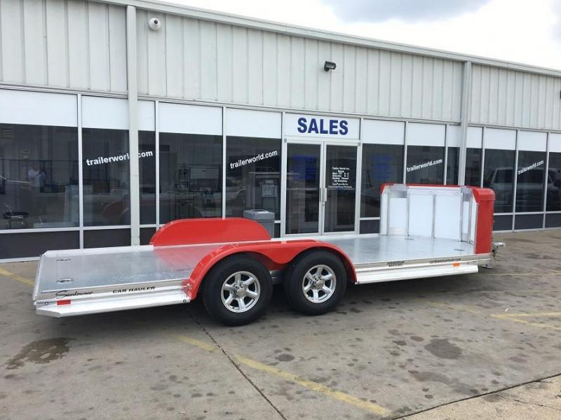 2019 Sundowner Aluminum Tapered Front Open Car Hauler Trailer