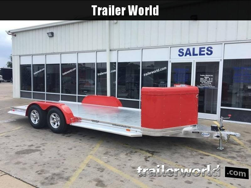 2019 Sundowner Aluminum Tapered Front Open Car Hauler Trailer in Ashburn, VA