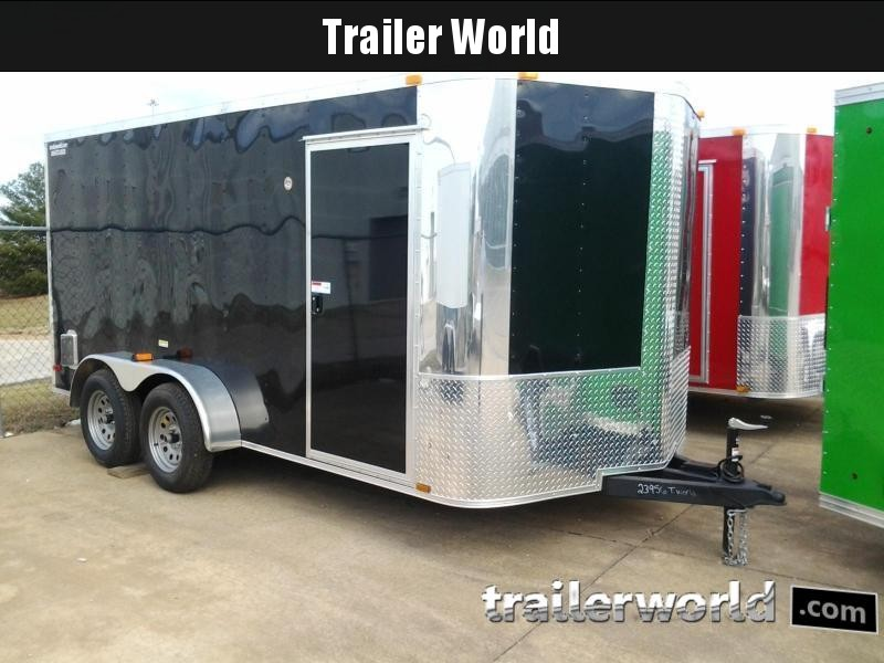 "2018 ARI 7' x 14' x 6'3"" Vnose Enclosed Cargo Trailer"