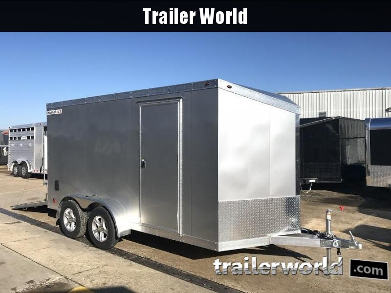 2019 Haulmark HAUV7x14WT2 7' x 14' x 6.5' Aluminum Enclosed Cargo Trailer