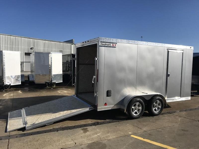 2019 Haulmark HAUV7x14WT2 7' x 14' x 6.5' Aluminum Enclosed Cargo Trailer