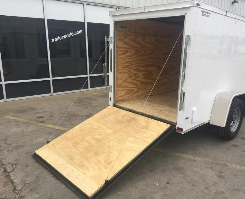 2018 Lark 5' x 8'  Enclosed Vnose Cargo Trailer