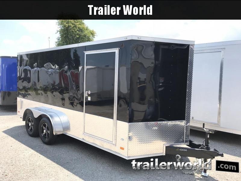 "2018 CW 7' x 16' 6'3"" Vnose Enclosed Cargo Trailer"