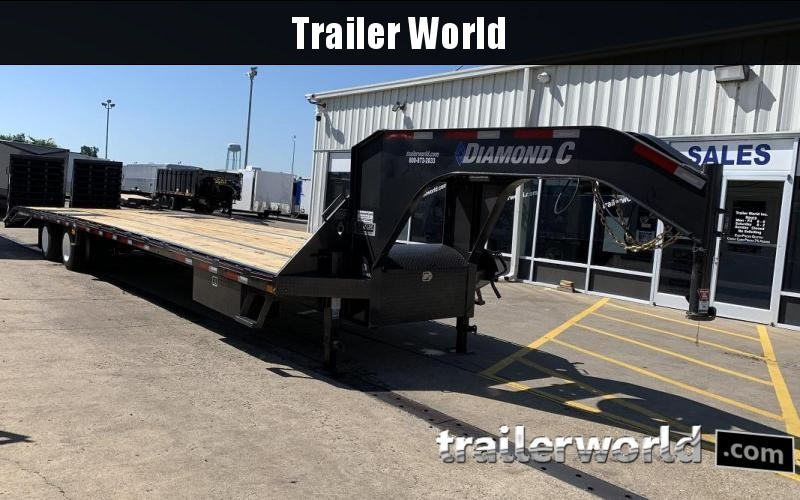 2019 Diamond C FMAX212 40' Hot Shot Trailer AIR RIDE in Ashburn, VA