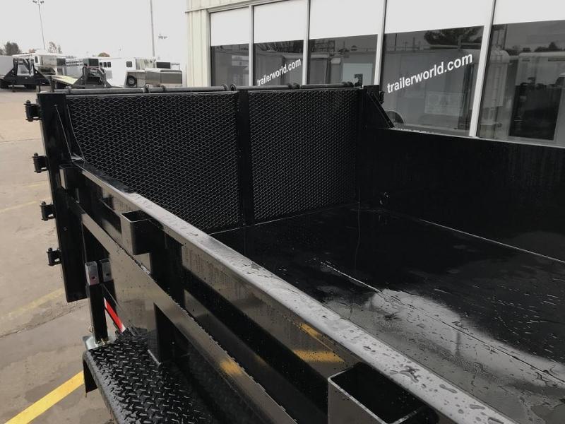 2019 Trailer World 14' Dump Trailer w/ Ramp Gate
