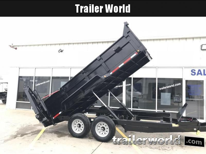 2019 Trailer World 14' Dump Trailer w/ Ramp Gate